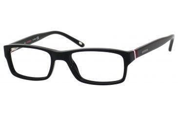 Carrera 6211 Eyeglass Frames CA6211-0OF7-4517 - Black / White / Red Frame, Lens Diameter 45mm, Distance Between Lenses 17mm