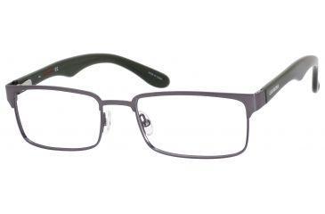 Carrera 6606 Single Vision Prescription Eyeglasses CA6606-062J-5318 - Dark Ruthenium / Green Frame, Lens Diameter 53mm, Distance Between Lenses 18mm