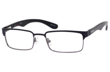 Carrera 6606 Single Vision Prescription Eyeglasses CA6606-0J0P-5318 - Black / Dark Ruthenium Frame, Lens Diameter 53mm, Distance Between Lenses 18mm