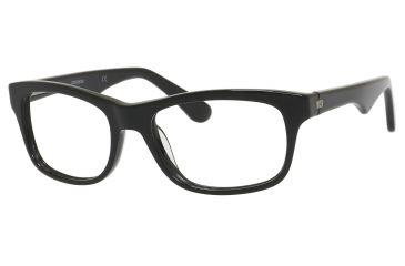 Carrera 6609 Eyeglass Frames CA6609-0807-5318 - Black Frame, Lens Diameter 53mm, Distance Between Lenses 18mm