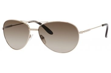 Carrera 69/S Sunglasses CA69S-03YG-CC-6015 - Light Gold Frame, Brown Gradient Lenses, Lens Diameter 60mm, Distance Between Lenses 15mm
