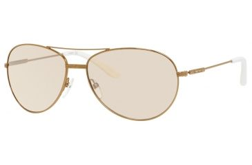 Carrera 69/S Sunglasses CA69S-0OUN-FL-6015 - Antique Gold Frame, Brown Mirror Gradient Lenses, Lens Diameter 60mm, Distance Between Lenses 15mm