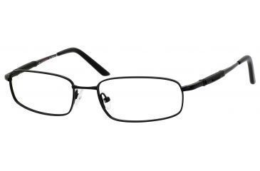 Carrera 7451 Single Vision Prescription Eyeglasses CA7451-091T-5117 - Black Semi Shiny Frame, Lens Diameter 51mm, Distance Between Lenses 17mm