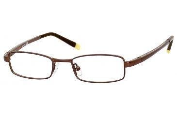 Carrera 7511 Progressive Prescription Eyeglasses CA7511-01J0-4417 - Brown / Yellow Frame, Lens Diameter 44mm, Distance Between Lenses 17mm