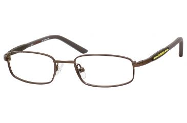 Carrera 7516 Eyeglass Frames CA7516-01E8-4516 - Brown Semi Shiny Frame, Lens Diameter 45mm, Distance Between Lenses 16mm