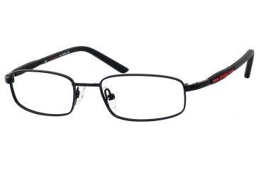 Carrera 7516 Eyeglass Frames CA7516-091T-4516 - Black Frame, Lens Diameter 45mm, Distance Between Lenses 16mm