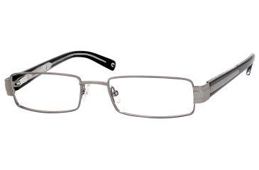 Carrera 7518 Progressive Prescription Eyeglasses CA7518-01J1-5218 - Dark Ruthenium Frame, Lens Diameter 52mm, Distance Between Lenses 18mm