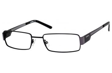 Carrera 7528 Single Vision Prescription Eyeglasses CA7528-0RZZ-5218 - Matte Black / Dark Ruthenium Frame, Lens Diameter 52mm, Distance Between Lenses 18mm
