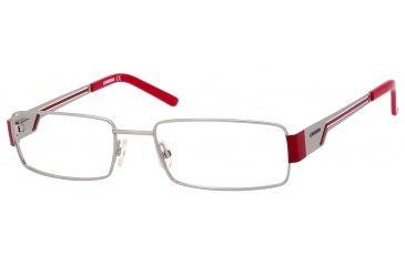 Carrera 7528 Progressive Prescription Eyeglasses CA7528-0ZU2-5218 - Palladium Frame, Lens Diameter 52mm, Distance Between Lenses 18mm