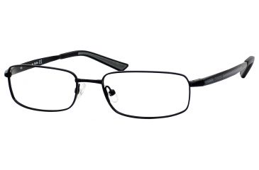 Carrera 7536 Bifocal Prescription Eyeglasses CA7536-091T-5217 - Black Semi Shiny Frame, Lens Diameter 52mm, Distance Between Lenses 17mm