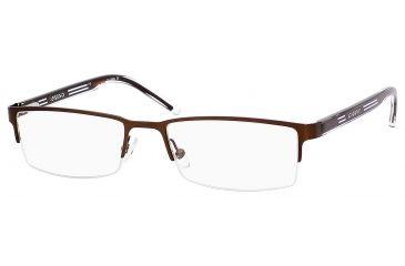 Carrera 7541 Bifocal Prescription Eyeglasses CA7541-05BZ-5218 - Brown Frame, Lens Diameter 52mm, Distance Between Lenses 18mm
