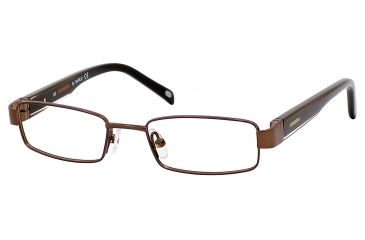 Carrera 7566 Single Vision Prescription Eyeglasses CA7566-01P5-4416 - Brown Frame, Lens Diameter 44mm, Distance Between Lenses 16mm