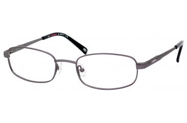 Carrera 7573 Eyeglass Frames CA7573-01P4-5219 - Ruthenium Frame, Lens Diameter 52mm, Distance Between Lenses 19mm