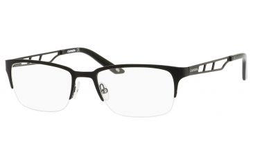 Carrera 7601 Single Vision Prescription Eyeglasses CA7601-0003-5218 - Matte Black Frame, Lens Diameter 52mm, Distance Between Lenses 18mm