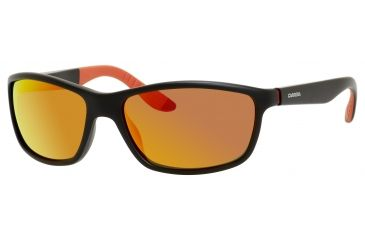 Carrera 8000/S Bifocal Prescription Sunglasses CA8000S-0DL5-UZ-6118 - Frame Color Matte Black, Lens Diameter 61 mm