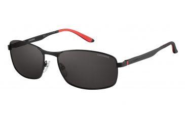 2333d7a58e Carrera 8012 S Sunglasses CA8012S-0003-M9-6017 - Matte Black Frame