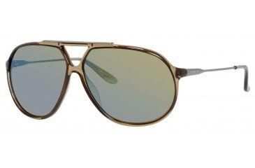 Carrera 82/S Single Vision Prescription Sunglasses CA82S-04OH-3U-6411 - Lens Diameter 64 mm, Frame Color Mud