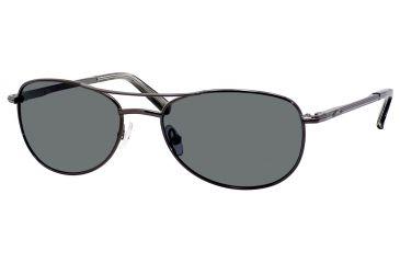 Carrera 928/S Single Vision Prescription Sunglasses CA928S-7SJP-RA-5517 - Frame Color Shiny Gunmetal, Lens Diameter 55 mm