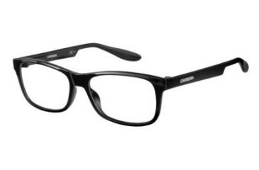 9a4c151986d5 Carrera Carrerino 61 Single Vision Prescription Eyeglasses CARRE61-0D28-4915  - Shiny Black Frame
