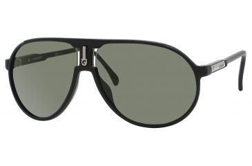 Carrera Champion/H/I/S Single Vision Prescription Sunglasses CHAMPHIS-0DL5-79-6212 - Frame Color Matte Black, Lens Diameter 62 mm