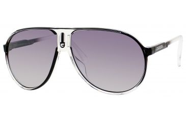 Carrera Champion/T/S Bifocal Prescription Sunglasses CHAMPTS-0JN0-IC-6212 - Lens Diameter 62 mm, Frame Color Crystal Black