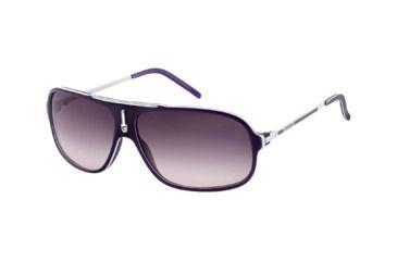 Carrera Cool Sunglasses - Violet White Palladium Frame, Plum Gradient Lenses COOLS06DPO9