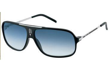 Carrera Cool Sunglasses - Black / Palladium Frame, Gray Polarized Lenses COOLS0CSARA