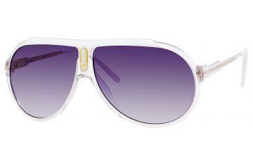 Carrera Endurance/T/S Progressive Prescription Sunglasses ENDURTS-0JO7-LF-6310 - Lens Diameter 63 mm, Frame Color Crystal White Gold