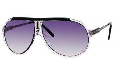 Carrera Endurance/T/S Progressive Prescription Sunglasses ENDURTS-0JO9-LF-6310 - Lens Diameter 63 mm, Frame Color Crystal Black Palladium