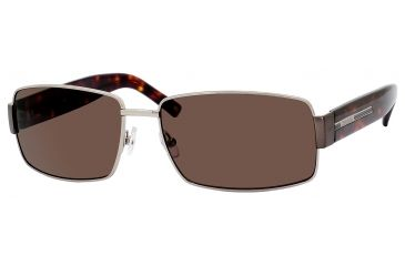Carrera Globetrotter 4/S Single Vision Prescription Sunglasses GLOBE4S-0FNM-70-6116 - Lens Diameter 61 mm, Frame Color Dark Ruthenium / Dark Tortoise