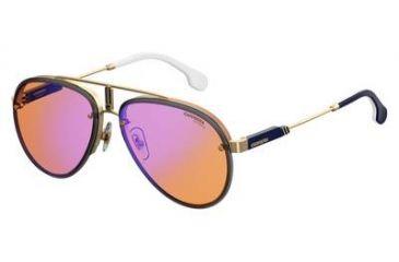 126fe7de0a81 Carrera Glory Sunglasses GLORYS-0OFY-DP-5817 - Gold Orange Frame, Orange