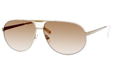 Carrera Master 2/S Progressive Prescription Sunglasses MASTE2S-0VFQ-ID-6112 - Lens Diameter 61 mm, Frame Color Gold White