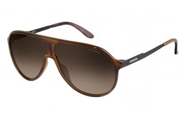 a9d3a7d538 Carrera New Champion S Sunglasses NEWCHS-08F8-HA-6208 - Havana Black