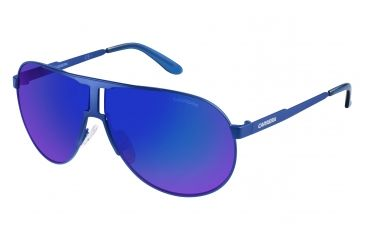 16794feb230 Carrera New Panamerika S Sunglasses NEWPAS-0IDK-Z0-6609 - Matte Blue