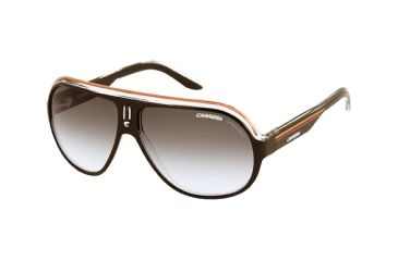 Carrera Speedway Single Vision Rx Sunglasses - Black Crystal Orange Frame SPEEDS0KEELF