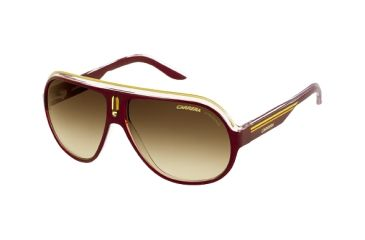 Carrera Speedway Single Vision Rx Sunglasses - Brown Crystal Yellow Frame SPEEDS0KDT1W
