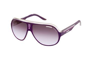 Carrera Speedway Single Vision Rx Sunglasses - Violet Crystal White Frame SPEEDS0KC9TB