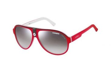 Carrera 32 Rx Sunglasses - Red White Frame, Single Vision Lenses CA32S06CFIC