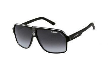 Carrera 33S Sunglasses - Black Crystal Gray Frame, Dark Gray Gradient Lenses CA33S08V69O