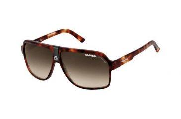 Carrera 33S Sunglasses - Blonde Havana Frame, Brown Gradient Lenses CA33S0WDRSH