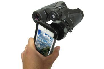 Carson HookUpz iPhone 5 Binocular Adapter, Black IB-542