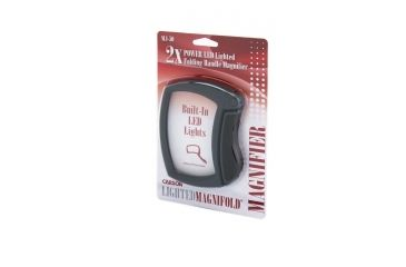 Carson MagniFold 2.5x Lighted Magnifier MJ-50