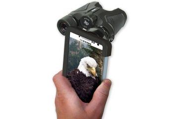 Carson Optical HookUpz for Galaxy S4 for binocular, Black/grey IB-442