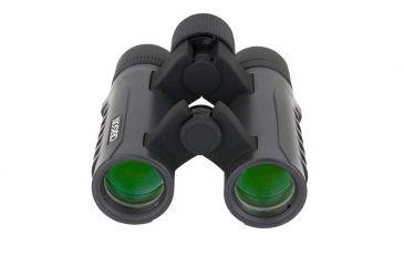 Carson Raven 8x26 Roof BAK-4 Prism Compact Waterproof Binoculars, Matte - RV-826