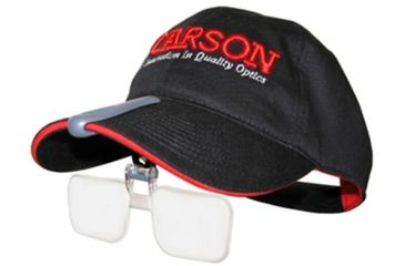 Carson VisorMag 1.75x Power +3.00 Diopters Clip-On Magnifying Lens for Hats VM-10