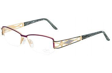 Cazal 1032 Eyewear with Bordeaux-Black Frame