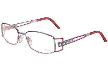 Cazal 4151 Eyewear - 989 Violet Anthracite-Apricot-White