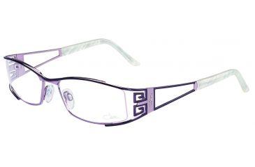 Cazal 4157 Eyeglasses with Plum-Lavender Frame
