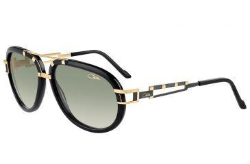 Cazal Cazal 8006 Sunglasses, Black-gold, 62-16-135 8006-001