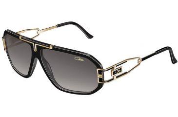 371c106e3070 Cazal 881 Sunglasses - 001 Black-Gold Grey Gradient Lenses